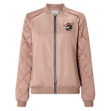 Buy Numph Darcia Bomber Jacket, Rosebuck Online at johnlewis.com