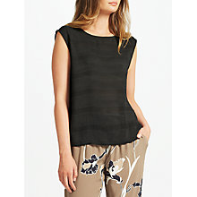Buy Minimum Jensine Top, Black Online at johnlewis.com
