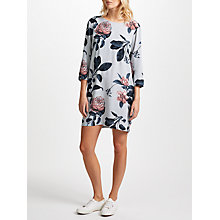 Buy Minimum Liljana Floral Print Dress, Harbour Mist Online at johnlewis.com