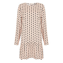 Buy Minimum Africa Polka Dot Dress, Mushroom Online at johnlewis.com