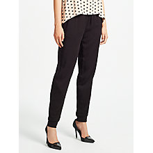 Buy Minimum Nanina Trousers, Black Online at johnlewis.com