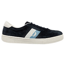Buy Fred Perry Authentic Tennis Shoes, Navy Online at johnlewis.com