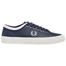 Buy Fred Perry Kendrick Leather Trainers Online at johnlewis.com