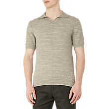 Buy Reiss Rashford Textured Polo Shirt, Sage Online at johnlewis.com