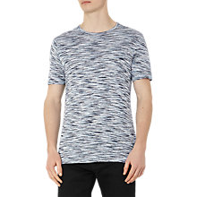 Buy Reiss Beach Tonal Stripe T-Shirt Online at johnlewis.com