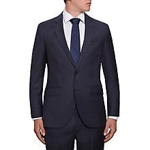 Buy Hackett London Wool Twill Regular Fit Suit Jacket, Navy Online at johnlewis.com