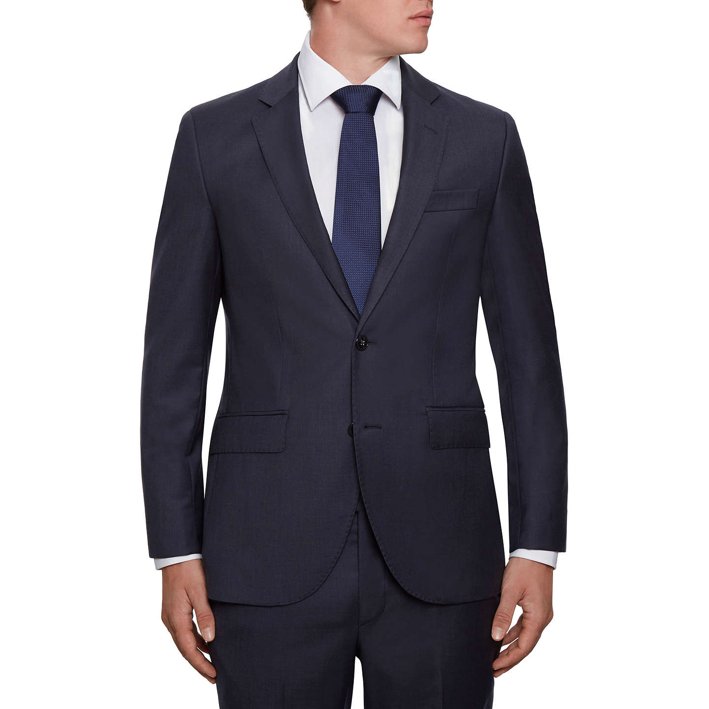 BuyHackett London Wool Twill Regular Fit Suit Jacket, Navy, 40L Online at  johnlewis.