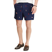 Buy Polo Ralph Lauren Classic Fit Polo Shorts, Newport Navy Online at johnlewis.com