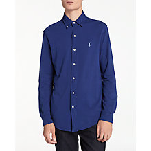 Buy Polo Ralph Lauren Long Sleeve Shirt, Fall Royal Online at johnlewis.com