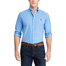 Buy Polo Ralph Lauren Cotton Poplin Standard Fit Shirt Online at johnlewis.com