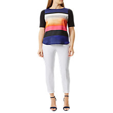 Buy Damsel in a dress Cropped Trousers, White Online at johnlewis.com