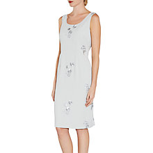 Buy Gina Bacconi Embroidered Moss Crepe Dress Online at johnlewis.com