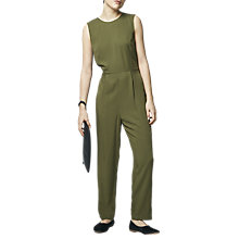 Buy Warehouse Casual Tie Back Jumpsuit Online at johnlewis.com
