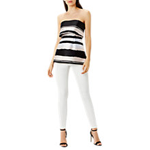 Buy Coast Anya Stripe Bandeau Top, Multi Online at johnlewis.com