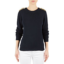 Buy Gerard Darel Marine Jumper, Navy Online at johnlewis.com