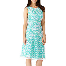 Buy Sugarhill Boutique Anna Floral Embroidered Dress, Turquoise Online at johnlewis.com