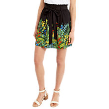 Buy Oasis Tropical Print Skirt, Multi Online at johnlewis.com