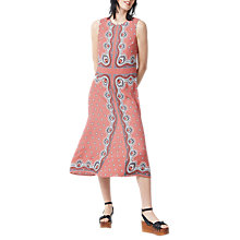 Buy Warehouse Bandana Print Dress, Pink Pattern Online at johnlewis.com