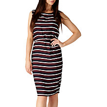 Buy Sugarhill Boutique Dessie Stripe Shift Dress, Navy Online at johnlewis.com