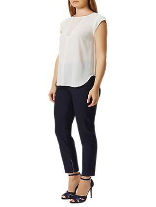 Damsel in a Dress Cropped Trousers, Navy
