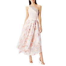 Buy Coast Ema Metallic One Shoulder Top, Blush Online at johnlewis.com