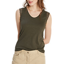 Buy White Stuff Lilly Lace Jersey Vest Top Online at johnlewis.com