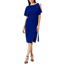 Buy Coast Elina Cold Shoulder Dress, Cobalt Blue Online at johnlewis.com