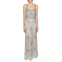 Buy Gina Bacconi Strappy Beaded Maxi Dress Online at johnlewis.com