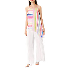 Buy Coast Antigua Stripe Asymmetric Top, Multi Online at johnlewis.com