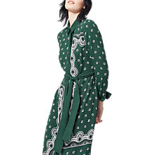 Buy Warehouse Bandana Shirt Dress, Dark Green Online at johnlewis.com