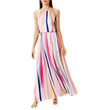 Buy Coast Lisbon Striped Maxi Dress, Multi Online at johnlewis.com