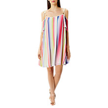 Buy Coast Ivy Printed Stripe Dress, Multi Online at johnlewis.com