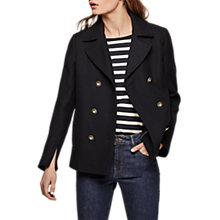 Buy Gerard Darel Veste Jacket, Navy Online at johnlewis.com