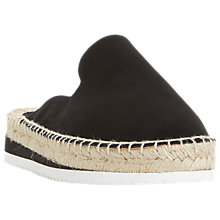 Buy Dune Geniee Backless Slider Espadrilles Online at johnlewis.com