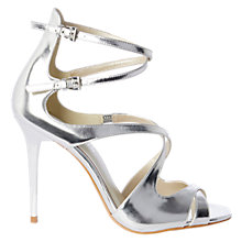 Buy Karen Millen Strappy Stiletto Heeled Sandals Online at johnlewis.com