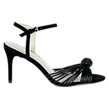 Buy Karen Millen Knot Detail Stiletto Heeled Sandals Online at johnlewis.com