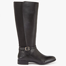 Buy John Lewis Tiffany Knee High Riding Boots, Black Online at johnlewis.com