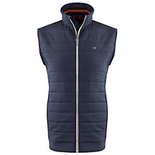 Buy Calvin Klein Golf Insul-Lite Quilted Gilet, Navy Online at johnlewis.com