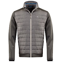 Buy Calvin Klein Golf Insul-Lite Quilted Jacket, Grey Online at johnlewis.com