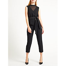 Buy Marella Islanda Jumpsuit, Black Online at johnlewis.com