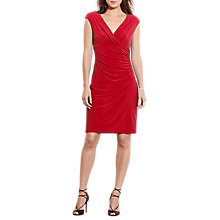 Buy Lauren Ralph Lauren Ruched Jersey Dress Online at johnlewis.com