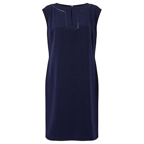 Buy Lauren Ralph Lauren Kaysci Cap Sleeve Dress, Navy Online at johnlewis.com