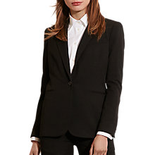 Buy Lauren Ralph Lauren Stretch Twill Jacket, Black Online at johnlewis.com