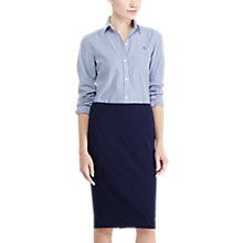 Buy Lauren Ralph Lauren Pencil Skirt, Navy Online at johnlewis.com