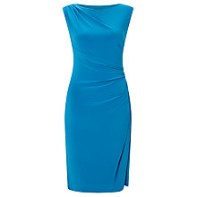 Buy Lauren Ralph Lauren Cap Sleeve Dress, Peacock Online at johnlewis.com
