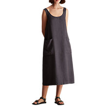 Buy Toast Sleeveless Linen Sun Dress, Slate Online at johnlewis.com