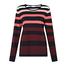 Buy Gerry Weber Long Sleeve Striped Jumper, Multi Online at johnlewis.com