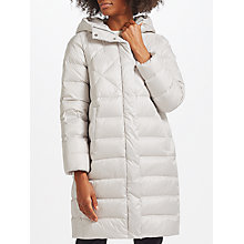 Buy Marella Carmela Quilted Coat, Ice Online at johnlewis.com