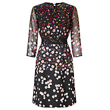 Buy Marella Editti Floral Print Dress, Black Online at johnlewis.com