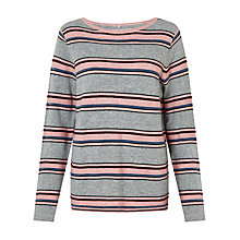 Buy Gerry Weber Cashmere Stripe Jumper, Multi Online at johnlewis.com